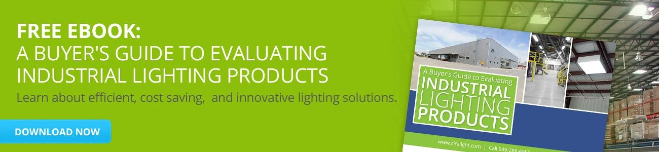 Download A Buyer's Guide to Evaluating Industrial Lighting Products