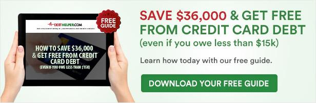 Save $36,000 and get free from credit card debt.