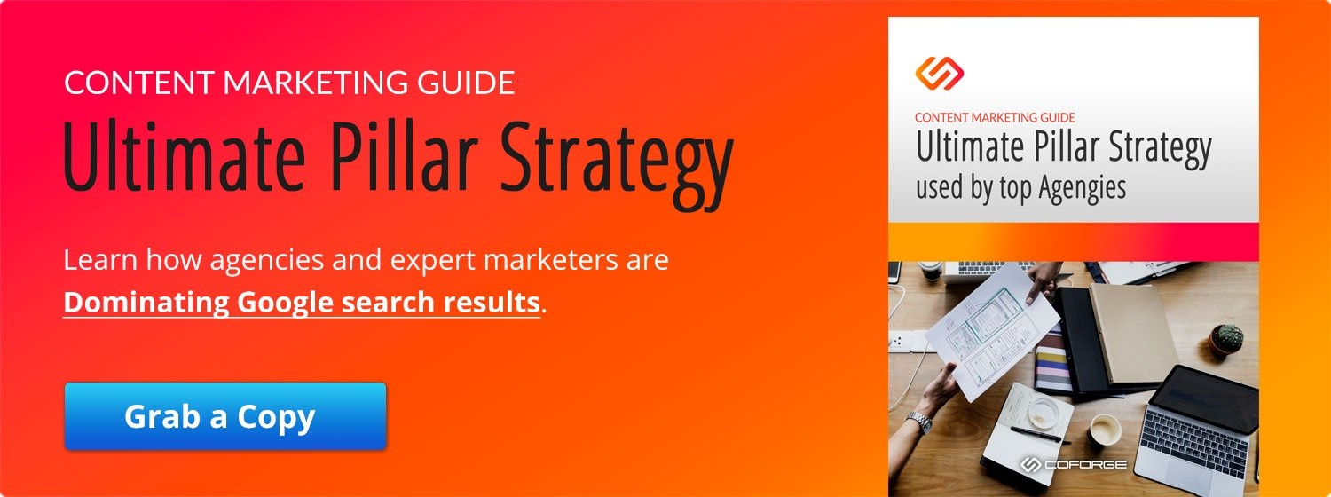 Content Marketing Guide - Pillar Strategy - Read now