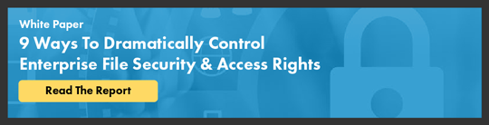Whitepaper: 9 Ways To Dramatically Control Enterprise File Security & Access Rights
