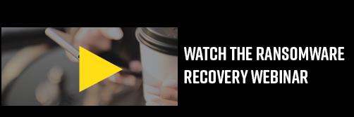 ransomware recovery webinar