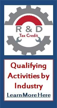 R&D Tax Credit Qualifying Activities by Industry