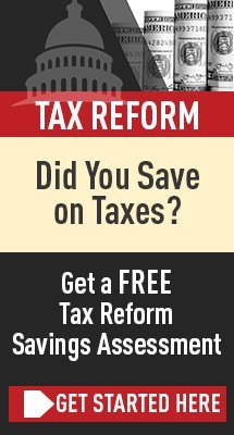 tax reform savings assessment