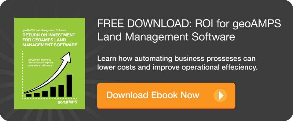 Return on Investment for geoAMPS Land Management Software