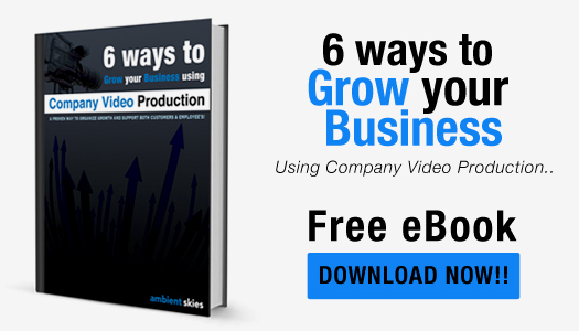 Free eBook on 6 ways to grow your business using company video production