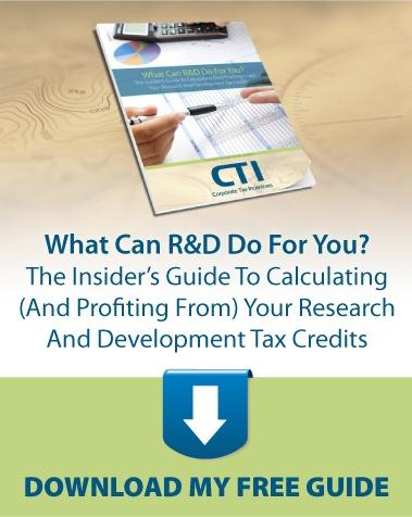 What Can R and D Do For You? The Insider's Guide to Calculating (And Profiting From) Your Research And Development Tax Credits. Download Your Free Guide.