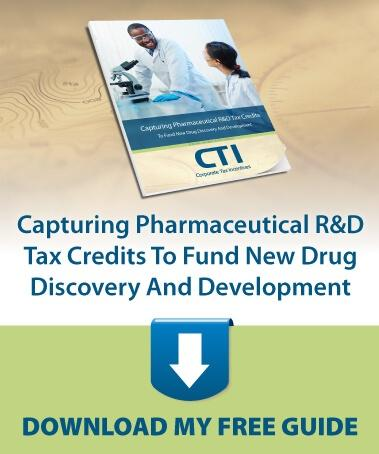 Capturing Pharmaceutical R&D Tax Credits To Fund New Drug Discovery And Development - Download Your Free Guide