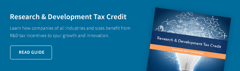 What Can R&D Do For You?  Discover a practical approach to maximizing your federal research and  development tax credit. Download Guide