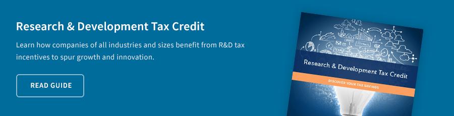 Research & Development Tax Credit Guide