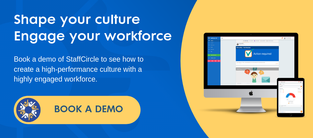 Book a Demo of Employee Engagement Software