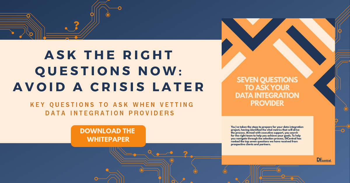 cover of data integration whitepaper