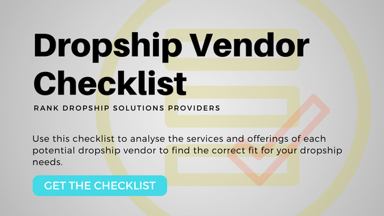 Dropship Vendor Checklist