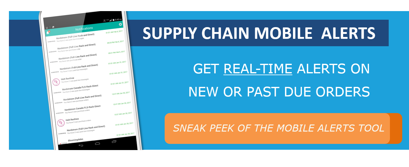 Supply chain alerts