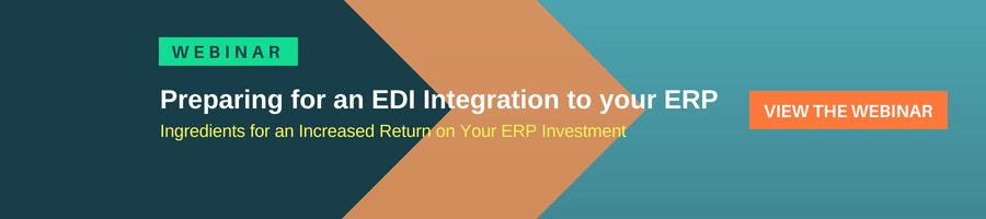 Webinar - Preparing for an EDI Integration to your ERP