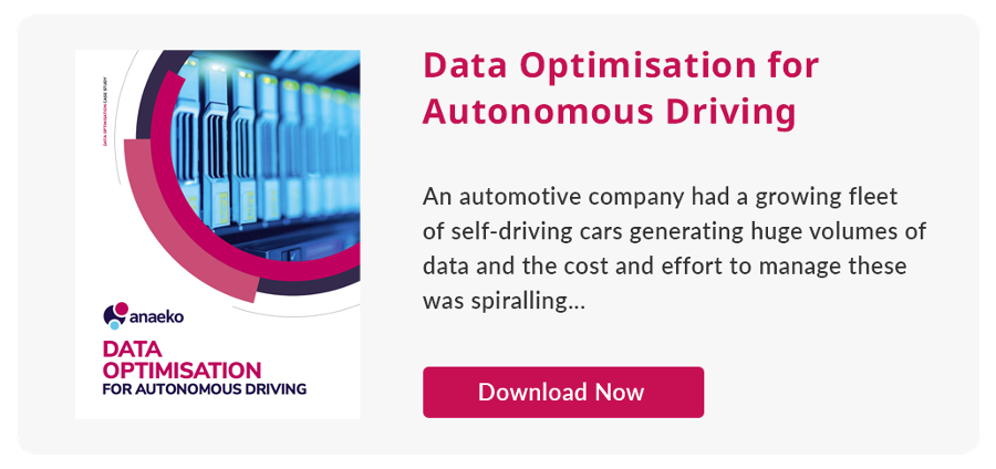 Data optimisation for autonomous driving case study