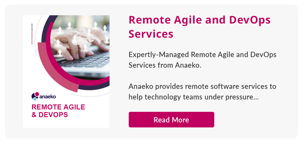 Remote agile and devops services