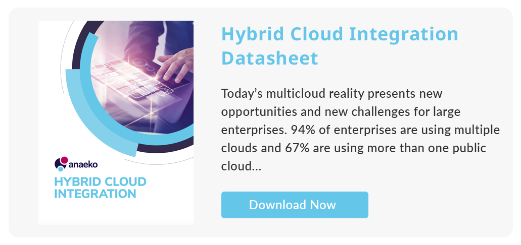 Hybrid Cloud Integration Datasheet