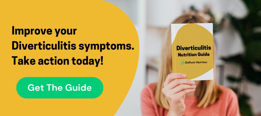 diverticulitis nutrition guide
