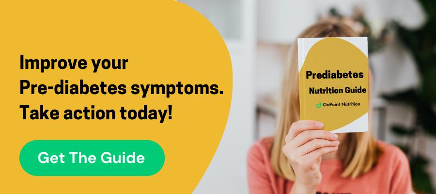 prediabetes nutrition guide