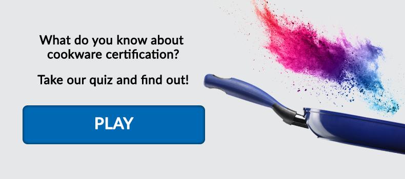 Cookware Certification Quiz