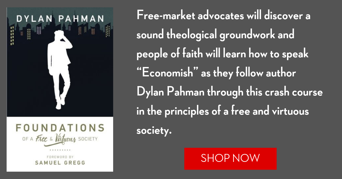 Foundations of a Free & Virtuous Society Book Ad
