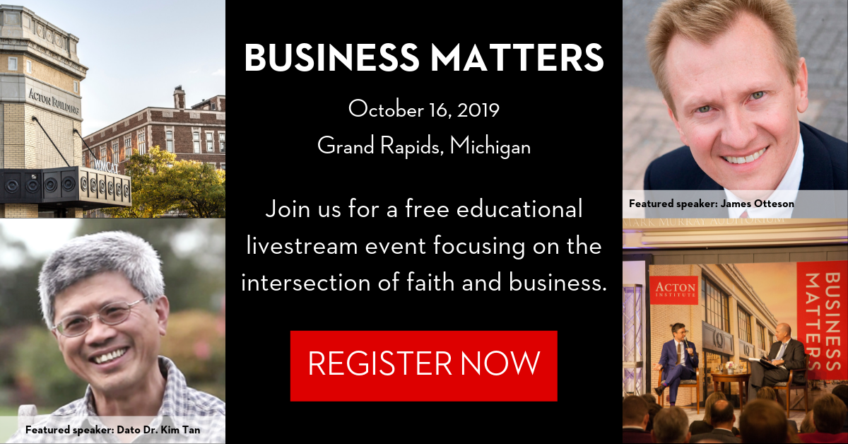 Business Matters 2019 Livestream Event