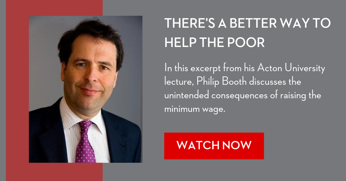 Minimum Wage Video (AU lecture excerpt, Philip Booth)