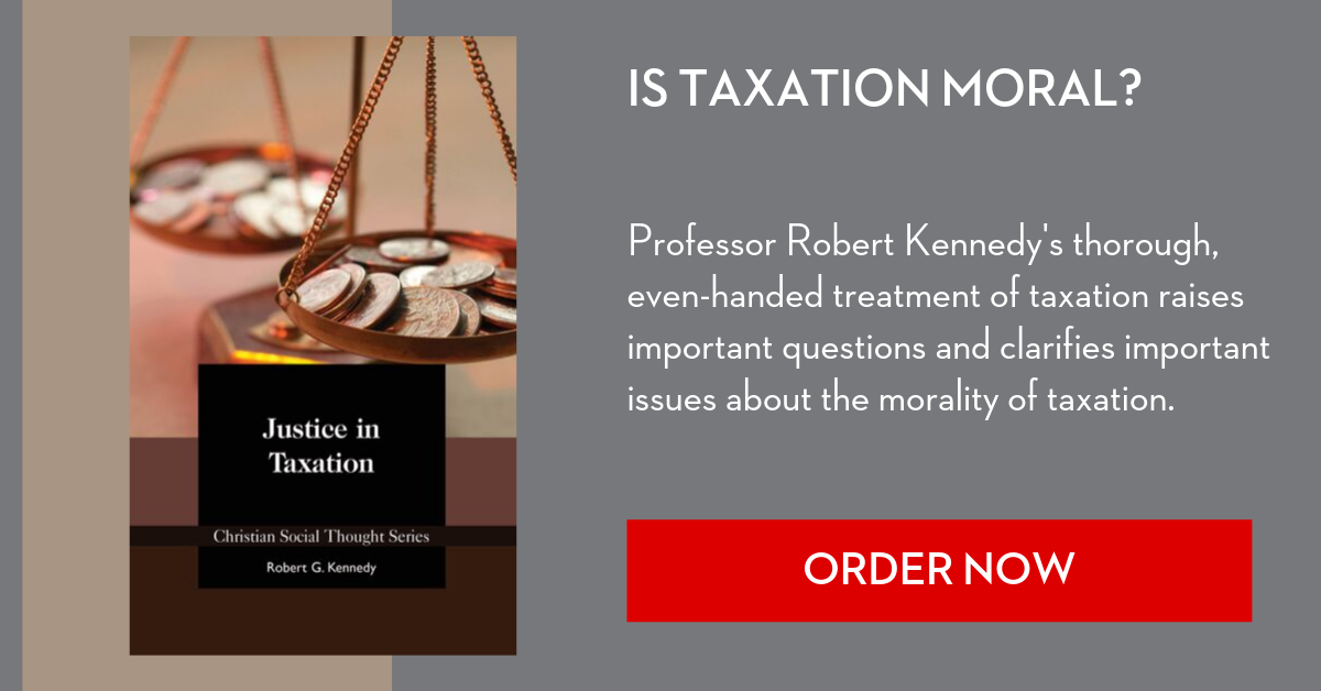 Justice in Taxation