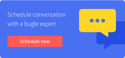 Schedule a conversation with the bugle team