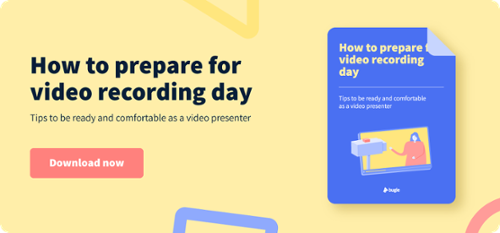 How to prepare for video recording