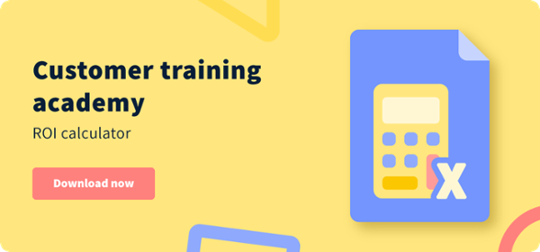 Customer Training Academy ROI Calculator