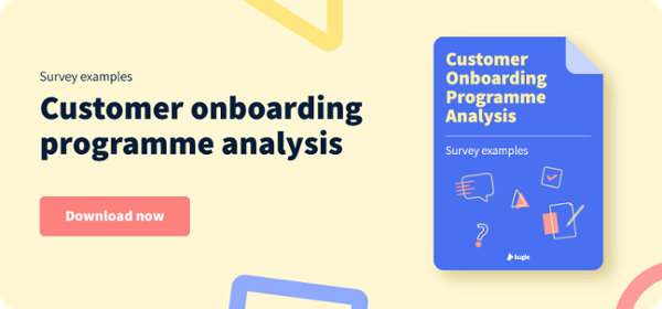 Customer Onboarding Analysis survey examples