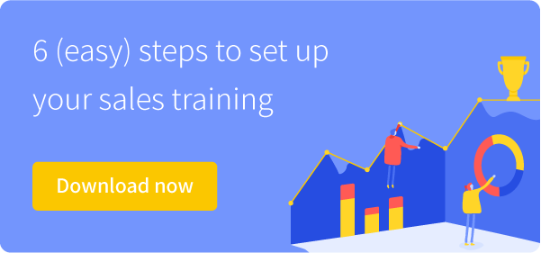 How to setup Sales training