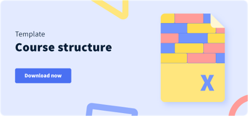 Course structure template
