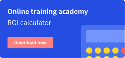 Online training academy ROI calculators