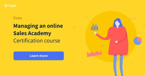 Managing an Online Sales Training Academy free course