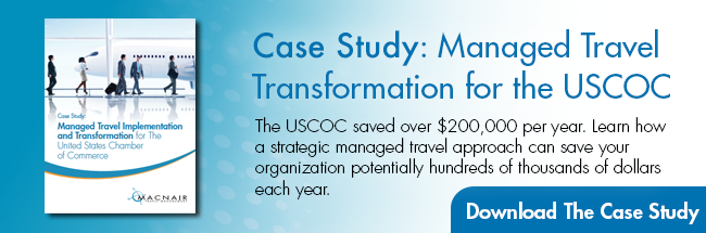 Managed Travel Transformation for the USCOC