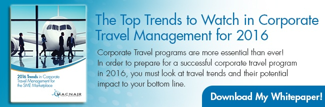 2016 Trends in Corporate Travel Management for the SME Marketplace