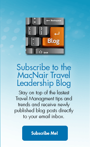 Subscribe to the MacNair Travel Leadership Blog