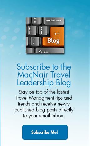 Subscribe to the MacNair Travel Leadership Blog