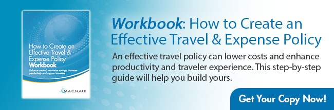 Travel Policy Workbook