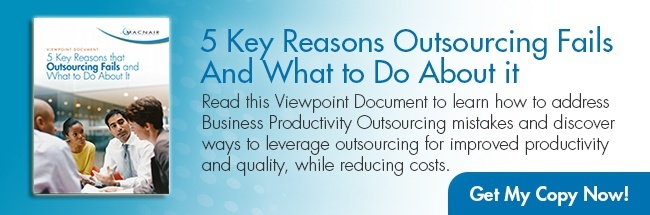 5 Key Reasons Outsourcing Fails and What to Do About it