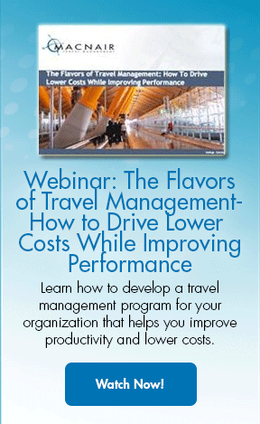 Webinar- The Flavors of Travel Management