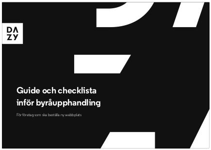 Ladda ner vår guide till kravställning av webbproduktion här!