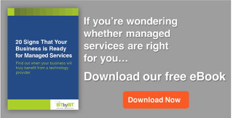 eBook - 20 Signs Your Business is Ready for Managed Services