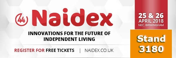 Stanley mobility at Naidex