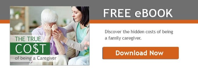 The True cost of being a Caregiver - Free eBook - Download Now