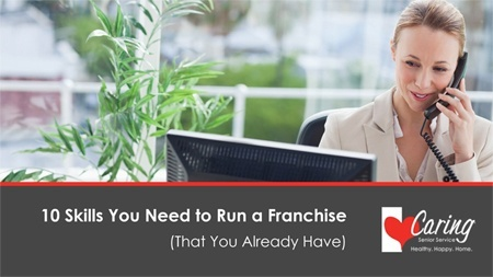10 Skills You Need to Run a Franchise