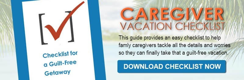 Caregiver Vacation Checklist