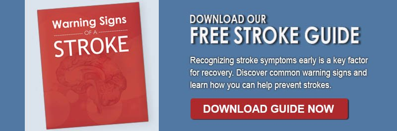 Warning Signs of Stroke Promotion